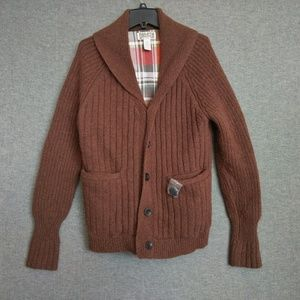 Duluth Men's Woolpaca Shawl Collar Cardigan M